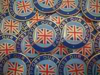 Support Our Troops pin badges