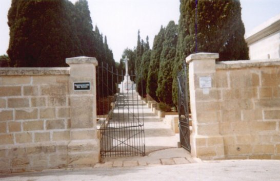 Entrance to Graveyard