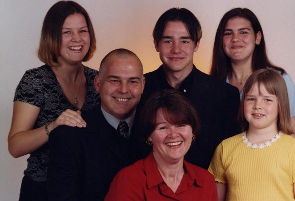 Colin and Family 2000