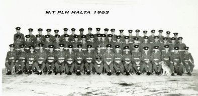 The MT Platoon Malta 1963 - Click to enlarge